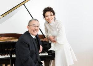 本島阿佐子 ピアノ=山下洋輔 Asako Motojima / Piano: Yosuke Yamashita