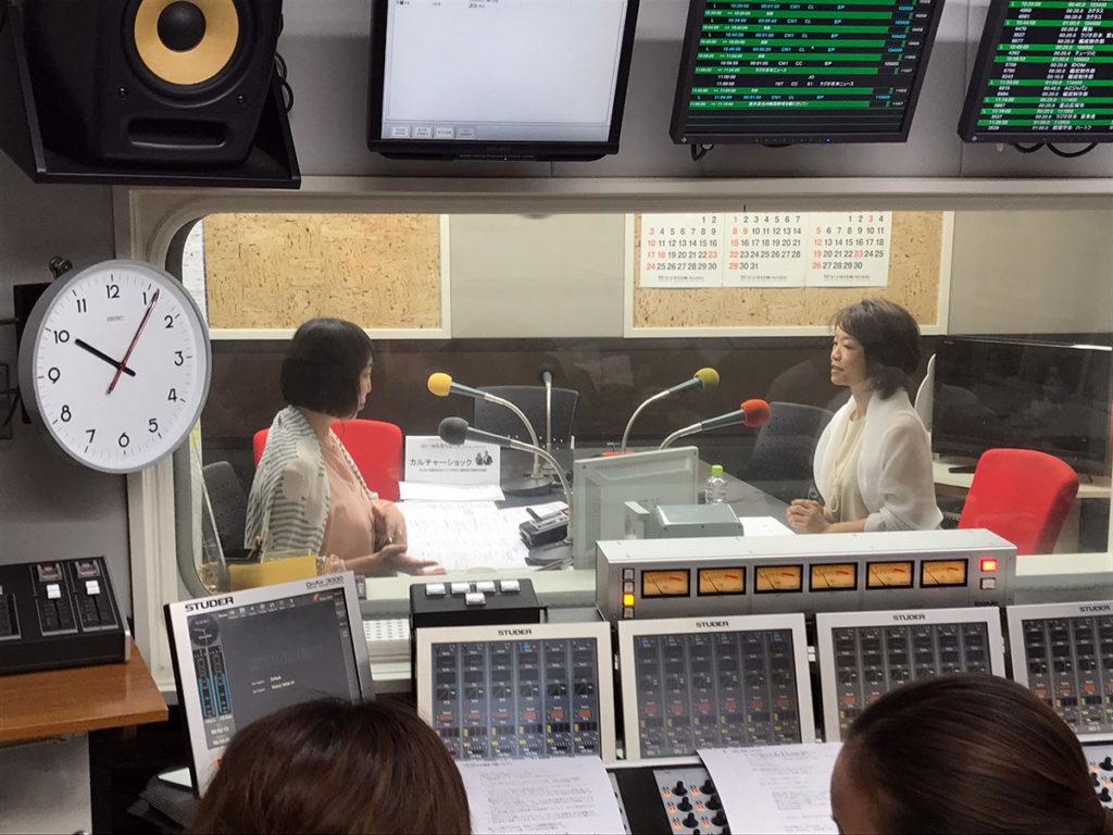 ラジオ日本「Hello!I,Radio」に出演